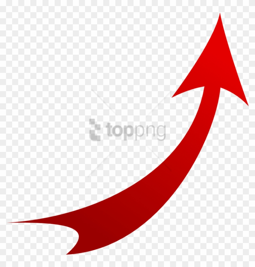 Free Png Curve Red Arrow Png Image With Transparent Red Curved Arrow On Transparent Background Clipart 1527023 Pikpng