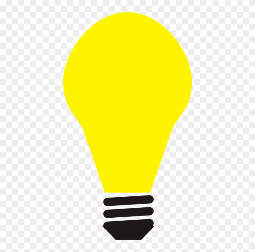 Incandescent Light Bulb Clip Art Christmas Computer - Light Bulb Clipart - Png Download #1530285