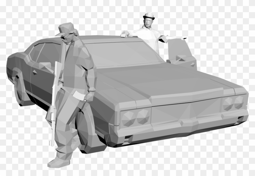 [collectable] Ryder And Big Smoke V1 - Van Clipart #1531236
