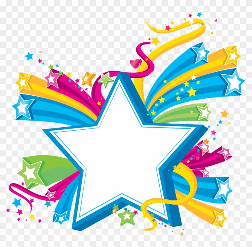 Archivo De Álbumes - Clipart Colorful Stars - Png Download #1533877