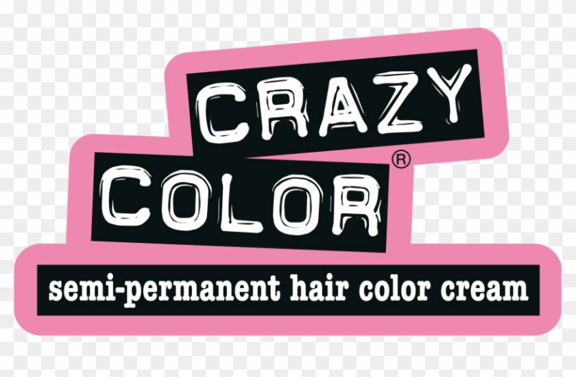 Crazy Color Was Launched In 1977, In The Midst Of The - Crazy Color Logo Png Clipart #1538851