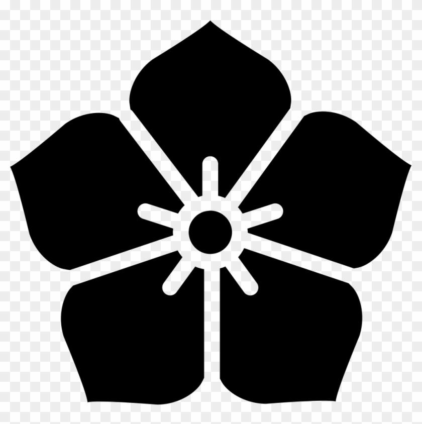 Png File Svg - Japanese Flower Symbol Clipart #1540592
