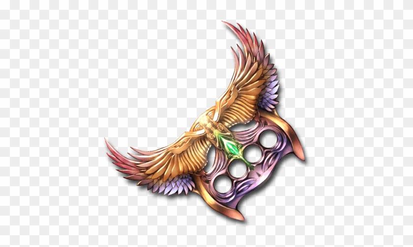 Archangel Brass Knuckles - Hawk Clipart #1543301