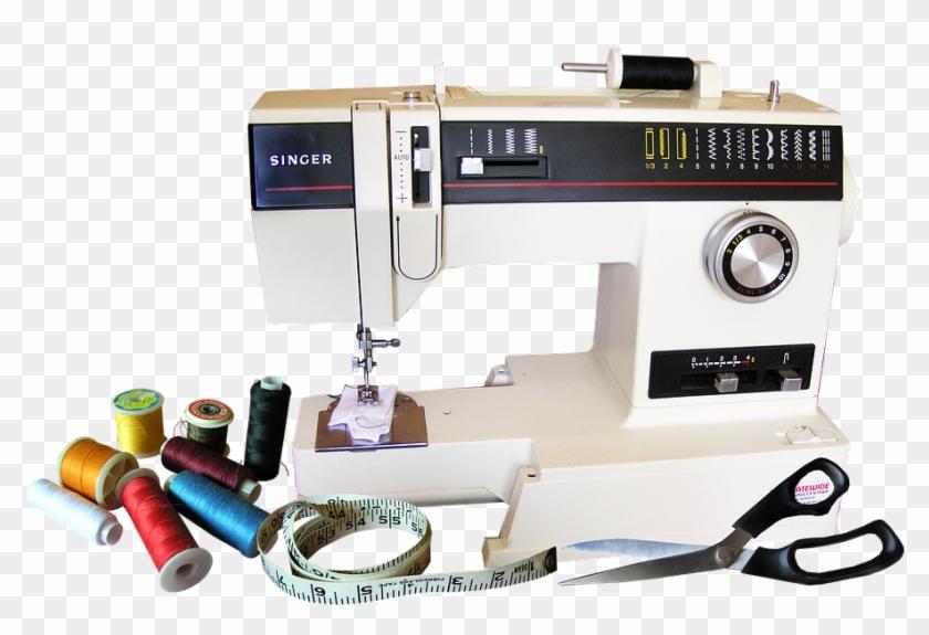Quilting Machine With Thread - Dressmaking Machine Clipart #1543813