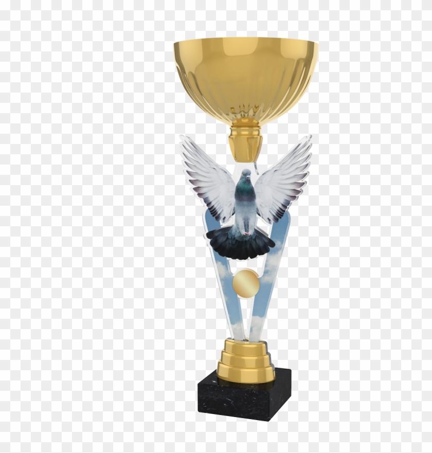 London Pigeon Racing Cup Trophy - Pigeon Racing Trophy Clipart #1557784