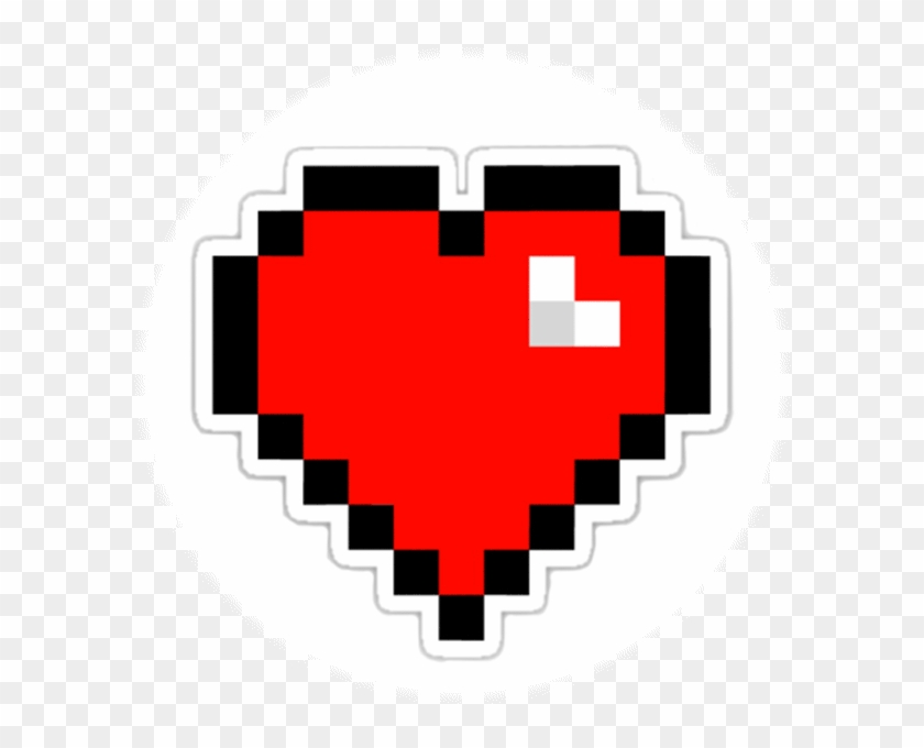 8 Bit Heart Transparent , Png Download - Happy Valentines Day Gamer Clipart #1557884