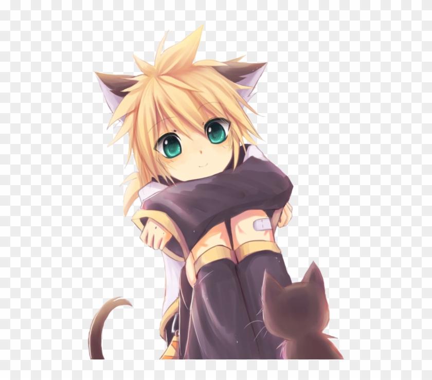 Cute Neko Boy Anime Clipart 1558261 Pikpng
