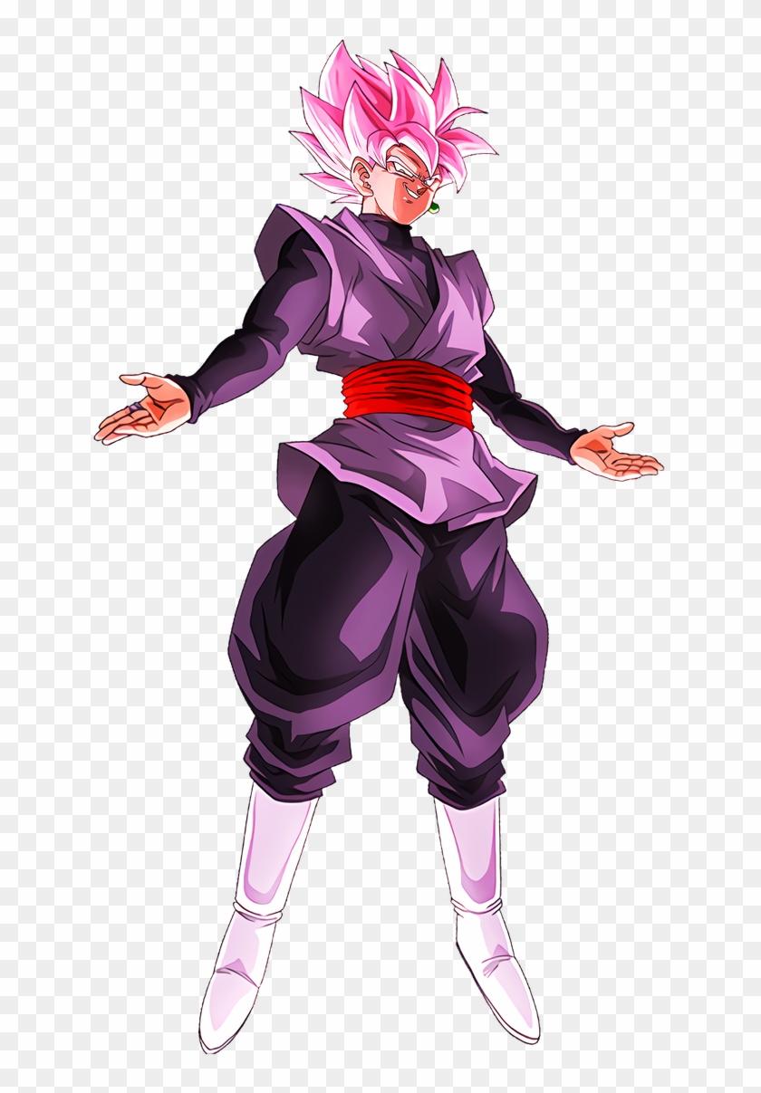 #dokkanbattle [virtue Of Noble Beauty] Goku Black Character - Goku Black Rose Dokkan Clipart #1567990