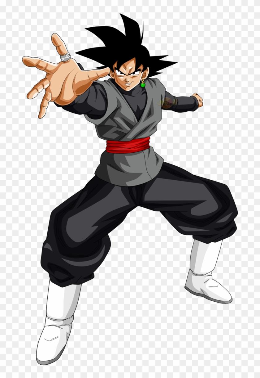 Goku Black Transformations Clipart #1568074
