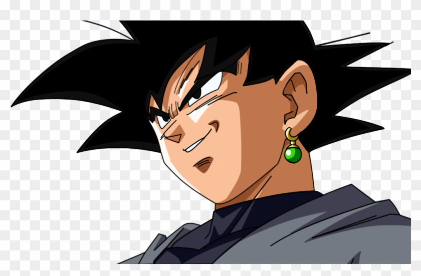 #drawing #photoshop #render #dragonballsuper #blackgoku - Renders De Black Goku Clipart #1568384