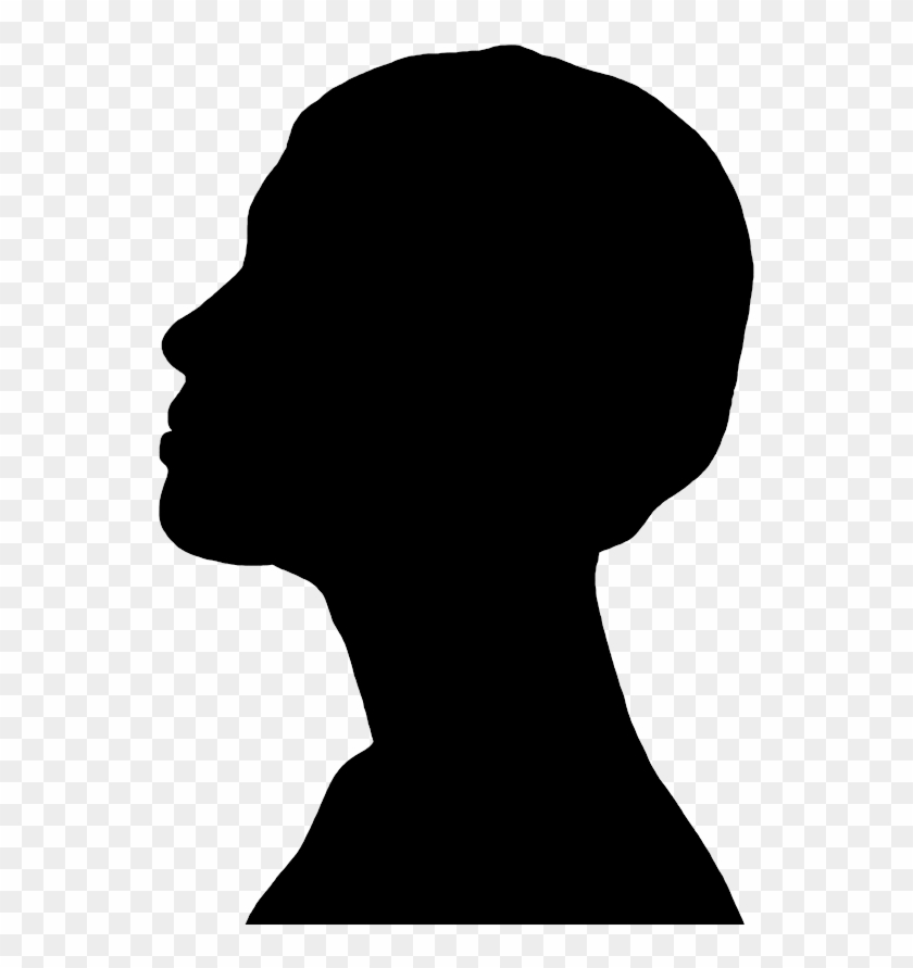 black blow butterfly girl photography - picship ...  Face Profile Silhouette Blowing
