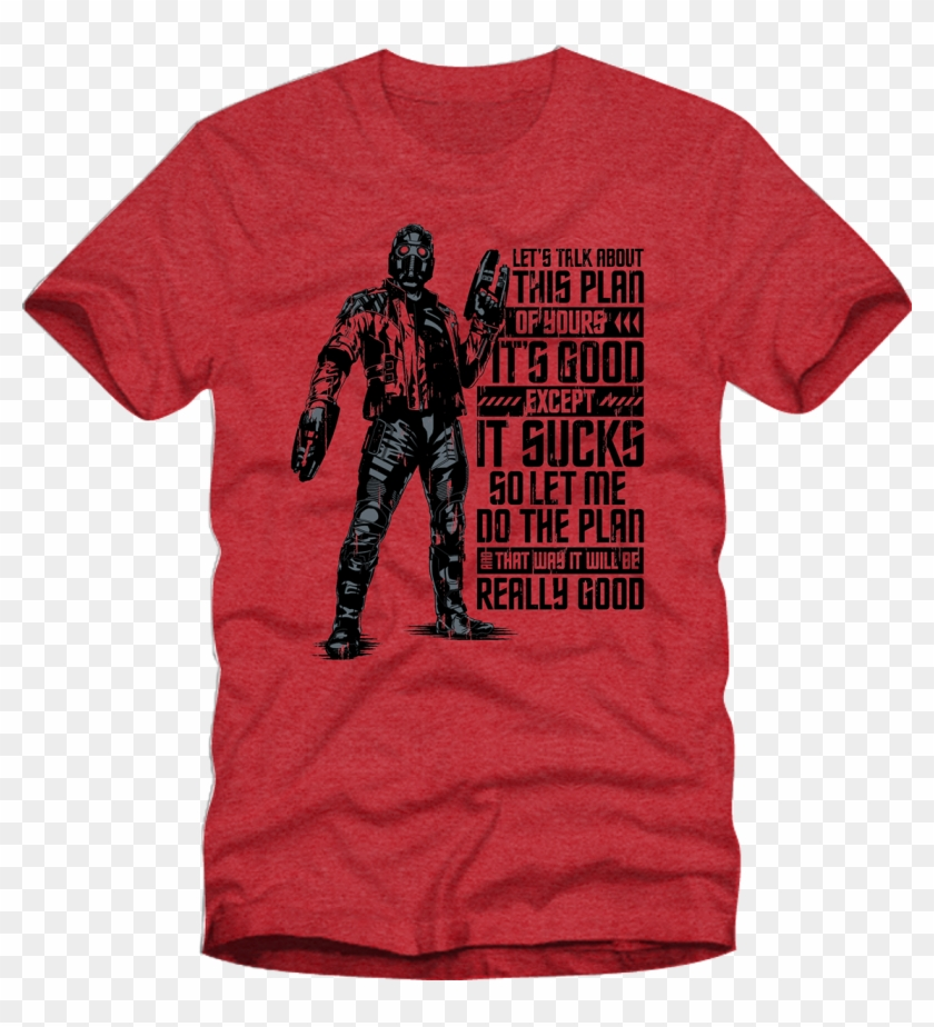 Star Lord T-shirt - T Shirt Clipart #1572289