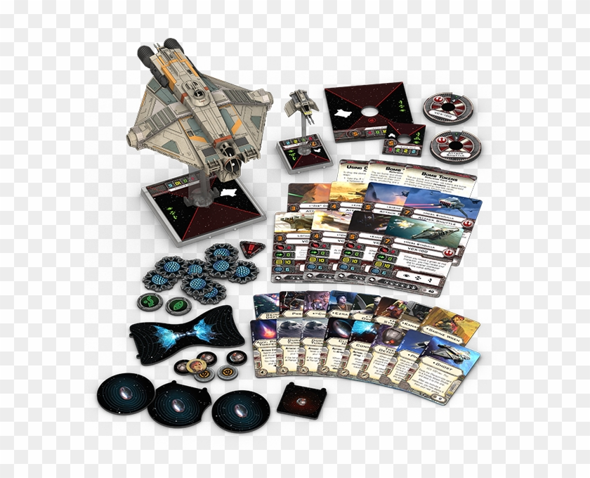 3jndg8x - Star Wars X Wing Ghost Expansion Pack Clipart #1577302