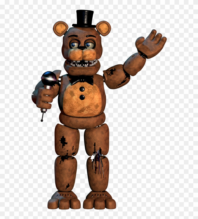 3ds Max Withered Freddy - Fnaf 2 Withered Golden Freddy ...