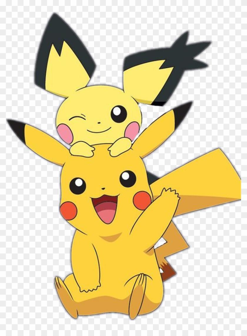 Pikachu Sticker Transparent Backgrounds Pichu Clipart 1581730