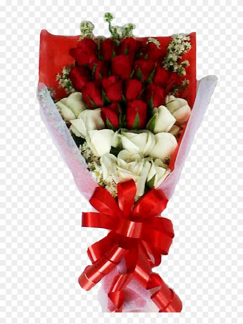 Bunga Bingkai Ember Buket Bunga Mawar Asli Hd Png