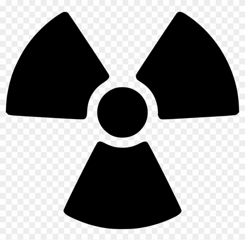 Png Nuclear Symbol - Radioactive Symbol Clipart #1592864
