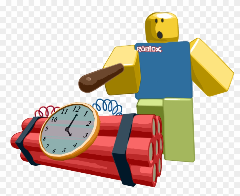 Roblox Noob Transparent Background Free Roblox Noob Roblox Noob Shirt Noob Poking A Bomb With A Stick Clipart 1596698 Pikpng