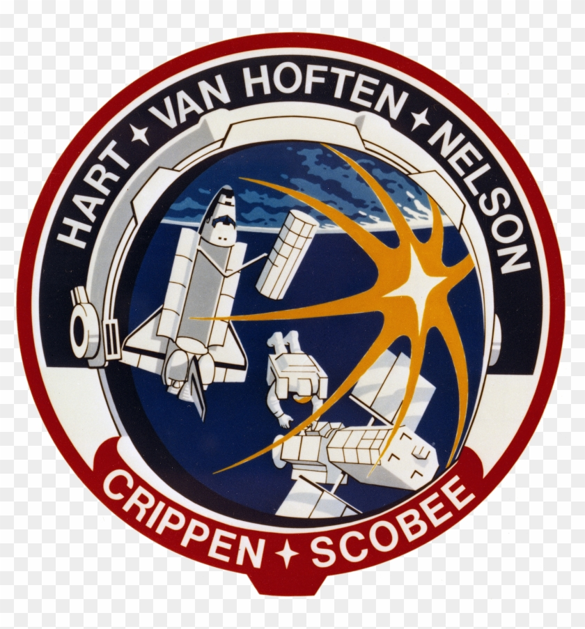 Sts 41 C Patch - Challenger Sts 41 C Clipart #160251