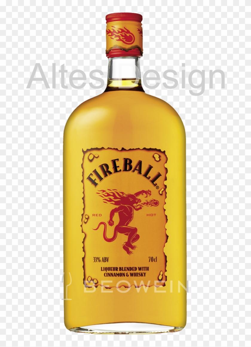 Fireball Whisky Cinnamon Liqueur 0,7 L - Whisky Fireball Clipart #160373