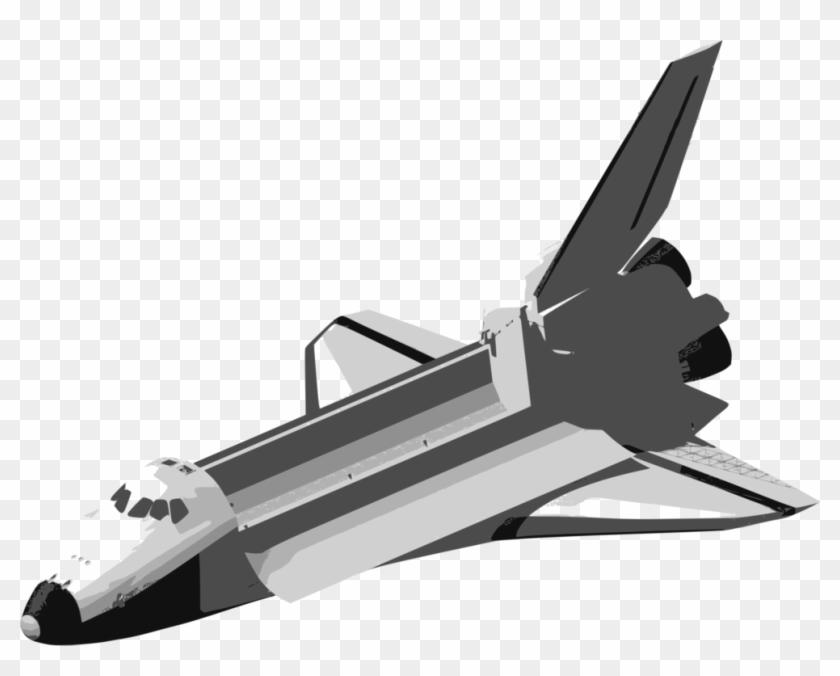 Airplane Space Shuttle Program Spacecraft Rocket - Pesawat Ulang Alik Png Clipart #160571