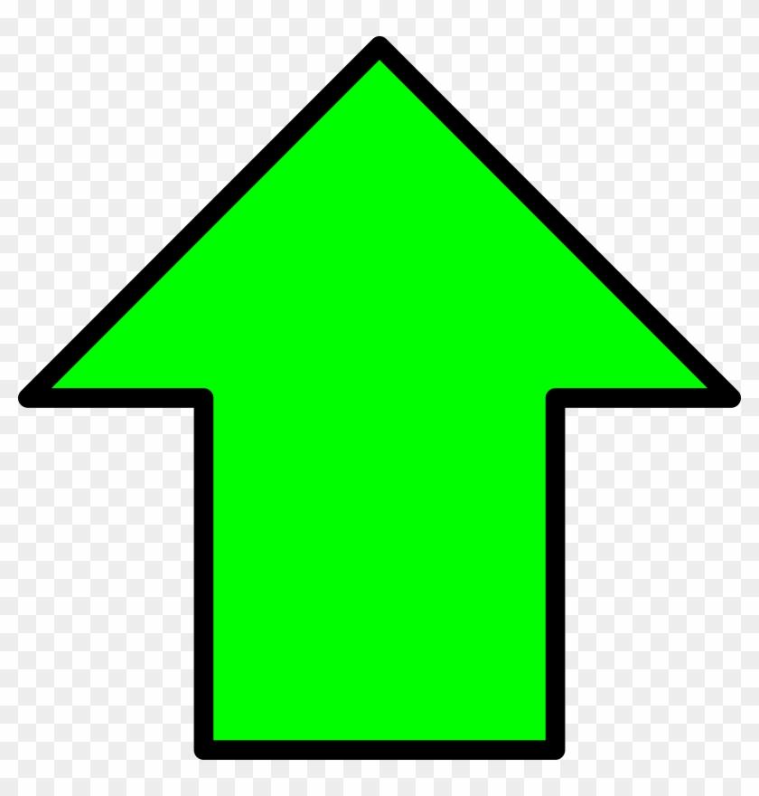 Green Up Arrow - Green Up Arrow Png Clipart #163376