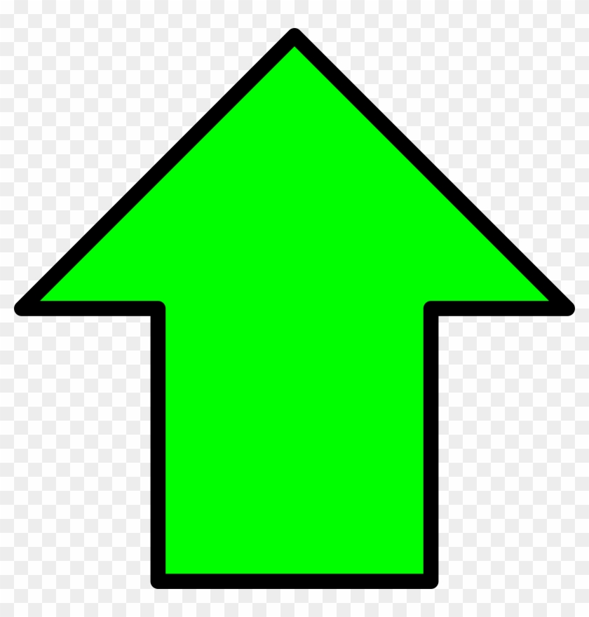 Green Up Arrow - Green Up Arrow Png, Transparent Png #163376