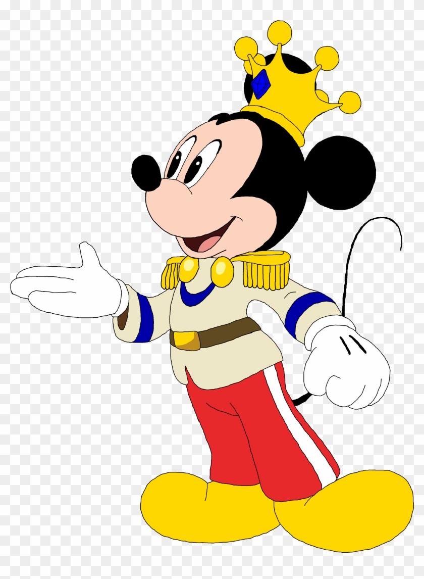 Mickey Mouse Clipart Royal Imagen De Mickey Principe Png