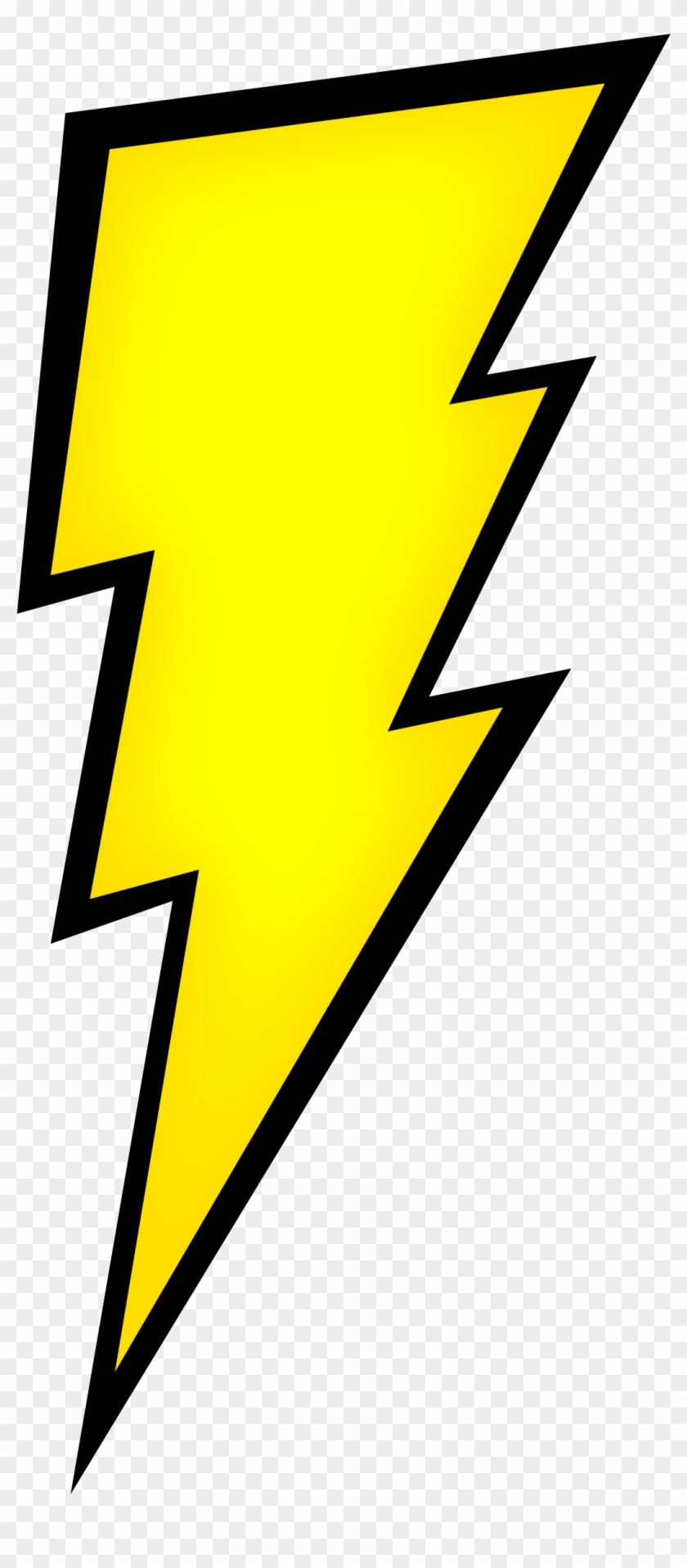 Free Icons Png - Lightning Bolt Drawing Easy Clipart #166334