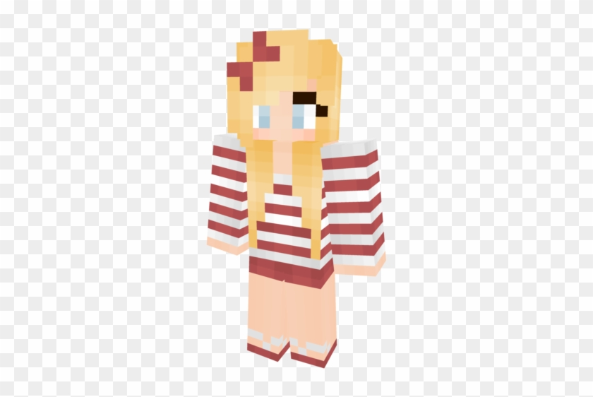 Aakaabpng Minecraft Blonde Girl Skins Clipart 1606937 Pikpng