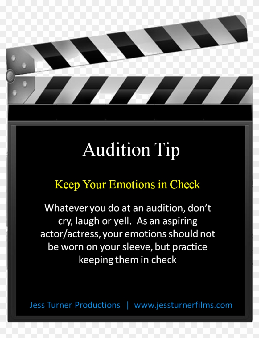 Follow Us On Facebook For Actor Quotes And Audition - Good Luck With Your Audition Clipart #1611918