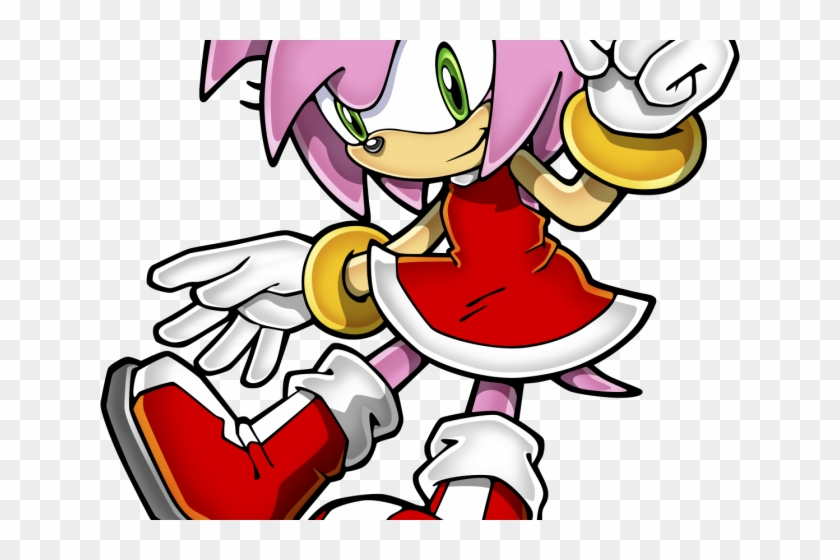 Sonic The Hedgehog Clipart Amy Rose Amy Rose From Sonic The Hedgehog Png Download 1612002 Pikpng