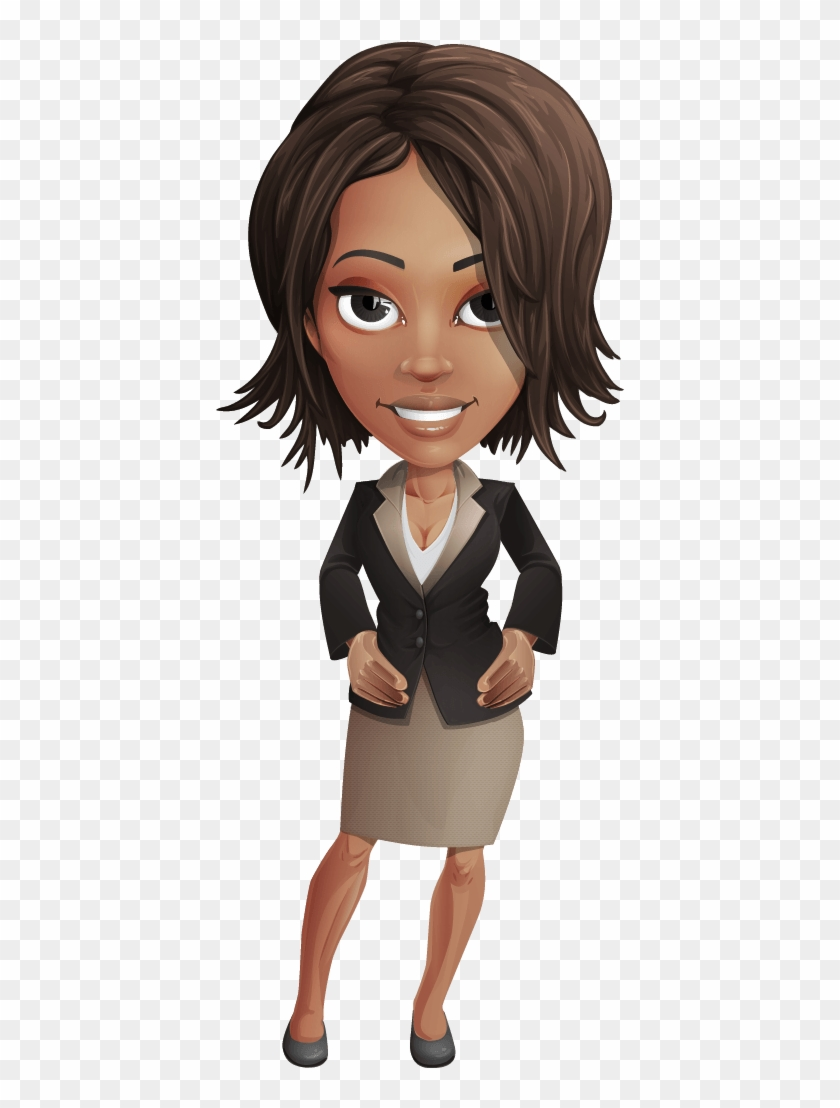 Women Transparent Animated - Office Woman Cartoon Png Clipart (#1612812) -  PikPng