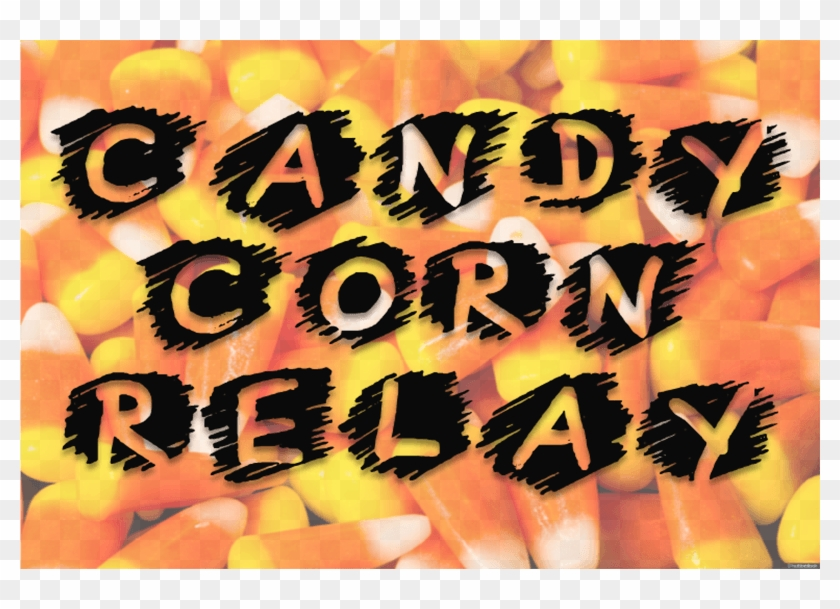 Candy Corn Relay - Candy Corn Relay Race Clipart #1613506