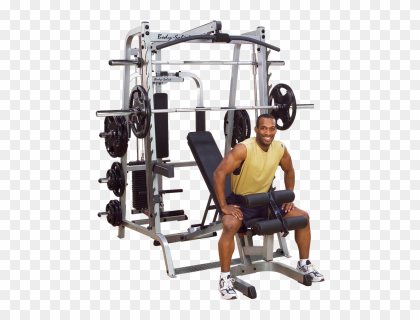 Body Solid Series 7 Smith Gym Body Solid Series 7 Smith Machine Clipart 1619377 Pikpng