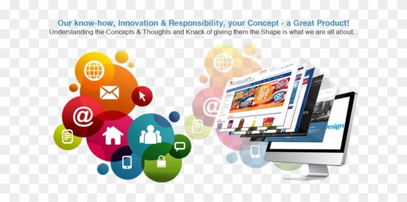 E Commerce Concept Transparent Image - E Commerce Website Banner Clipart #1628023