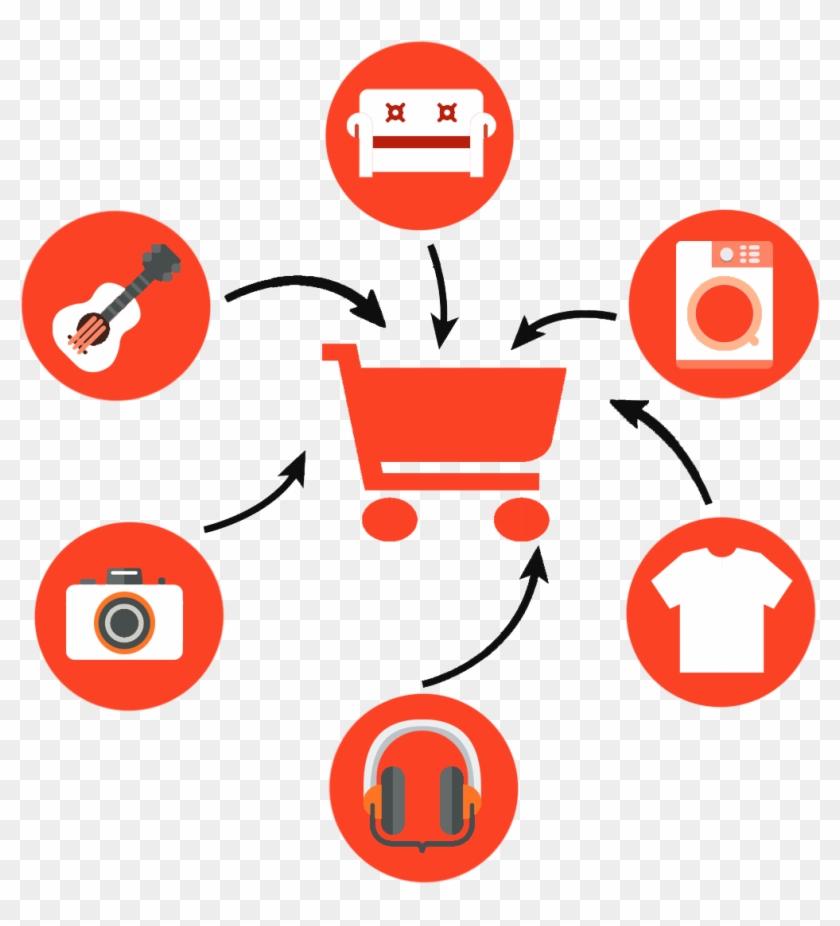 E-commerce - E Commerce Transaction Icon Clipart #1628139