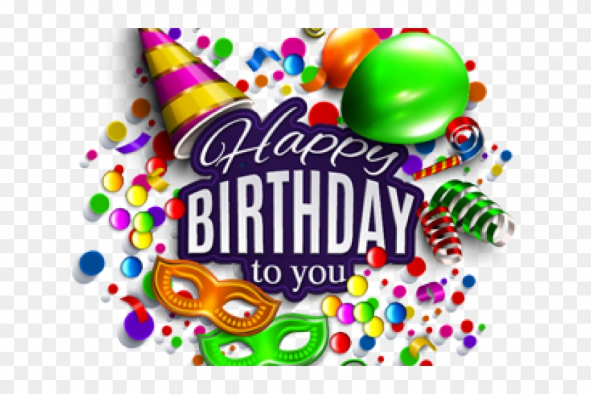 3d Clipart Happy Birthday - Happy Birthday To You Png Transparent Png #1632431