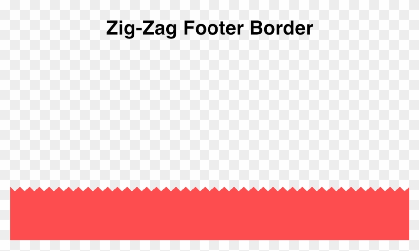 Zig Zag Bottom Border Clipart #1638480