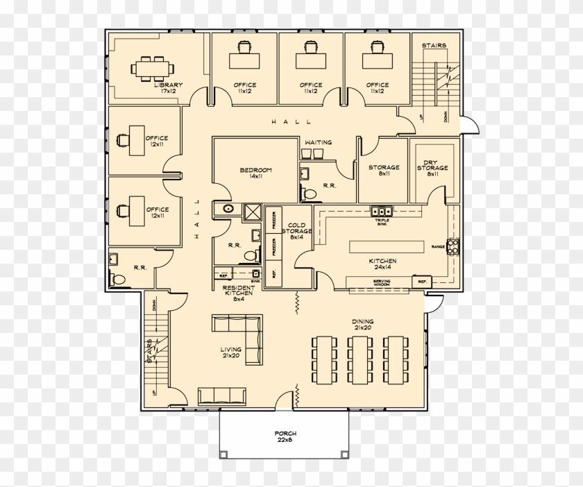 Corner House Floor Plan Clipart 1638799 Pikpng