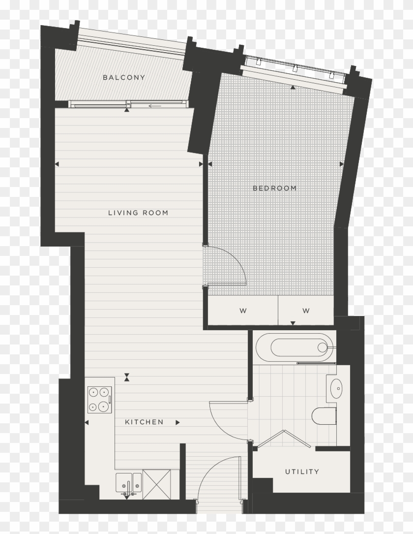 Approximate Measurements Only, They Are Not Necessarily - Floor Plan Clipart #1647062