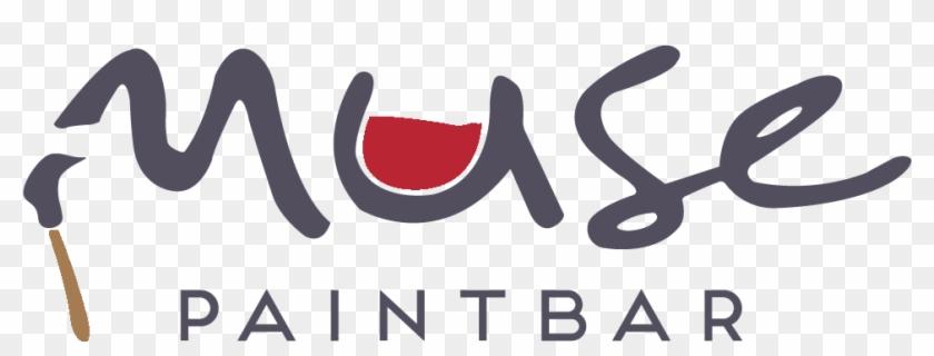Paint Splatter Logo - Muse Paintbar Clipart #1651706