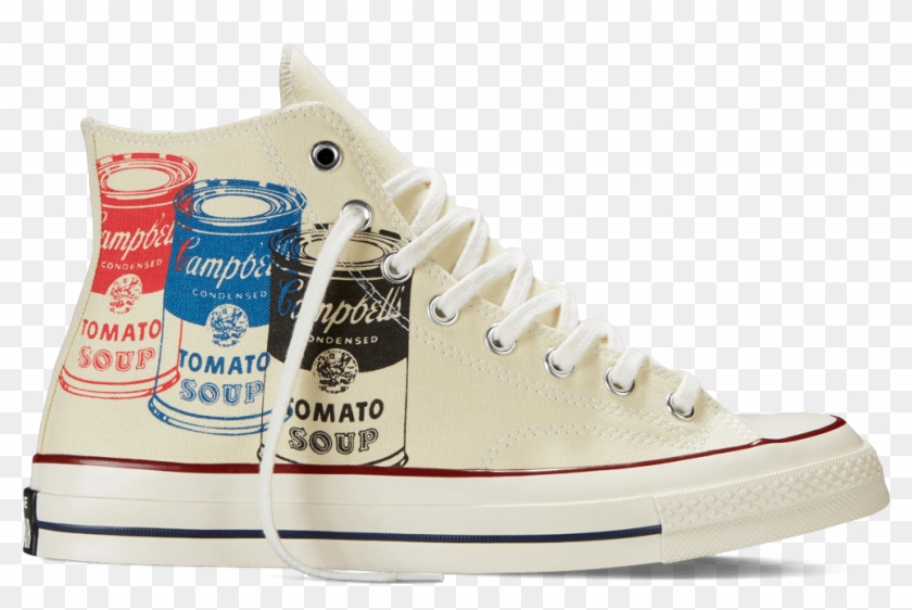 The Art Of Wearing Art Get The New Andy Warhol Converse - Andy Warhol Converse Png Clipart #1651909