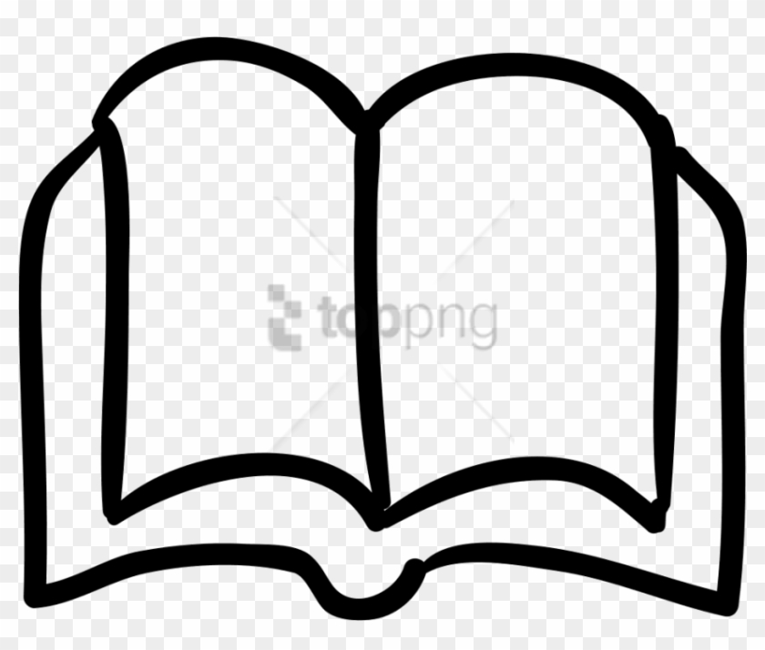Free Png Hand Drawn Book Icon Png Image With Transparent - Hand Drawn Book Icon Clipart #1656121
