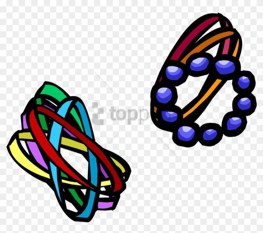 Free Png Club Penguin Wiki Bracelets Png Image With - Club Penguin Bracelets Clipart #1660541