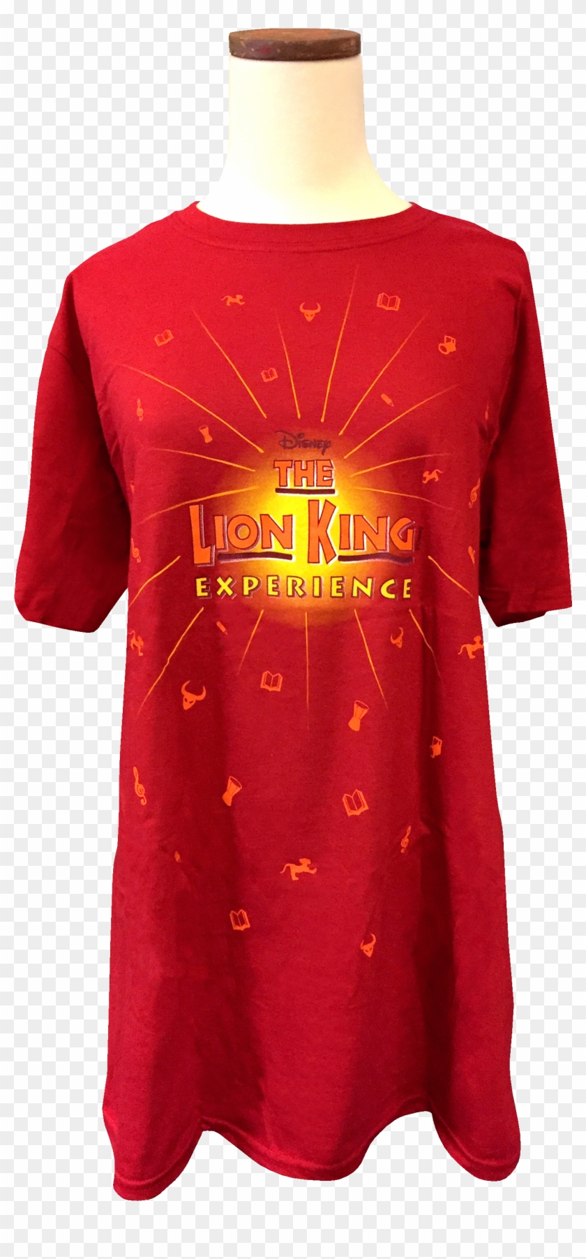 The Official Lion King Experience Logo T Shirt For - Active Shirt Clipart #1666061