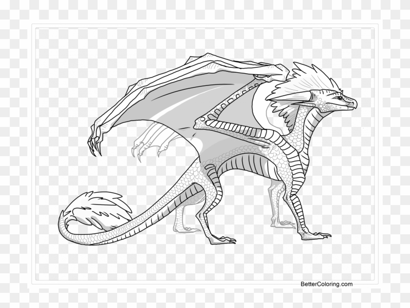 Medium Size Of Wings Of Fire Mudwing Coloring Pages - Illustration Clipart #1667211