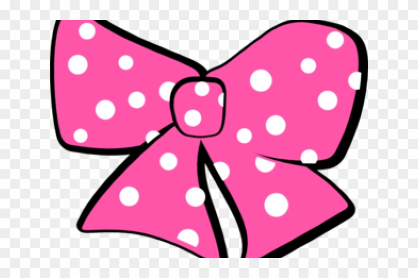 Minnie Mouse Clipart Bow - Minnie Mouse Ribbon Pink - Png Download #1667991