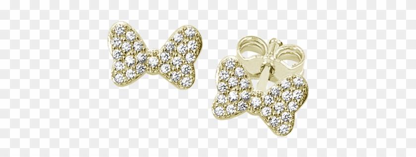 Minnie's Bow I - Body Jewelry Clipart #1668070