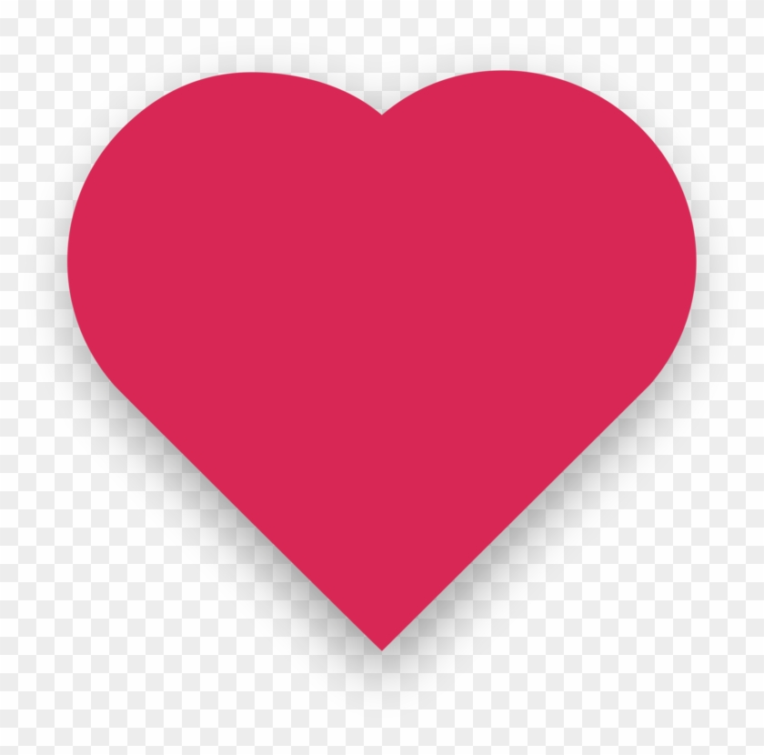 Heart Emoji Symbol Emoticon Red - Twitter Like Icon Png Clipart #1669725